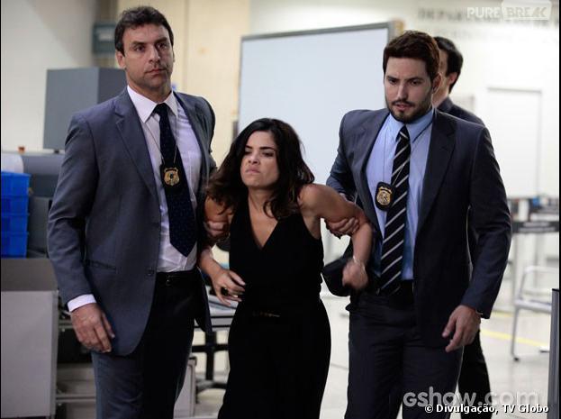 """Em """"Amor à Vida"""", Aline (Vanessa Giácomo) será presa no aeroporto!"""