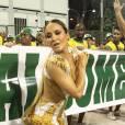 Claudia Leitte, rainha de bateria da Mocidade, diz que desfilará quase pelada no Carnaval