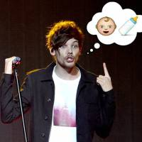 Louis Tomlinson, do One Direction, já é pai! Fãs surtam com novidade e memes invadem o Twitter