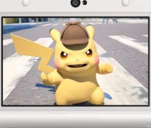 """Pikachu vira Sherlock Holmes no game """"Detective Pikachu"""" anunciado para Nintendo 3DS"""