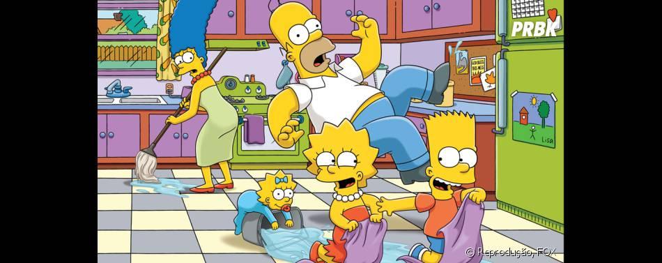 """Em """"Os Simpsons"""": episódio """" May Sweeps"""" terá Homer respondendo perguntas enviadas por fãs no twitter com hashtag #Homerlive"""