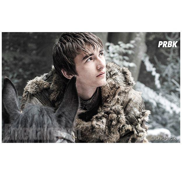 """Em """"Game of Thrones"""", Isaac Hempstead-Wright, o Bran, revela detalhes da 6ª temporada!"""