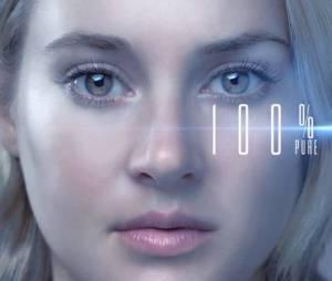 """Tris (Shailene Woodley) tem 100% de pureza em novo cartaz de """"A Série Divergente: Convergente"""""""