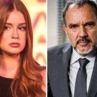"""Novela """"Totalmente Demais"""": Eliza (Marina Ruy Barbosa) é filha de Germano? Empresário acha que sim!"""