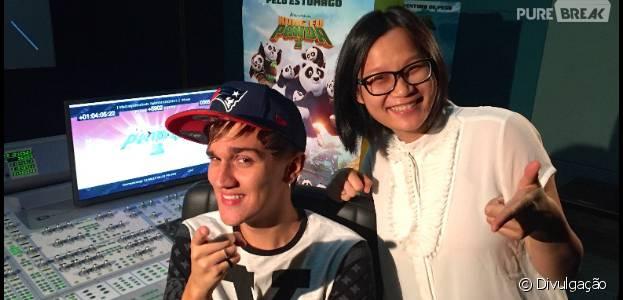 """Jiang Pu e Christian Figueiredo vão dublar a versão nacional de """"Kung Fu Panda 3"""""""