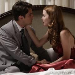 """Em """"Joia Rara"""": Silvia e Viktor se reencontram e vai rolar beijo apaixonado!"""
