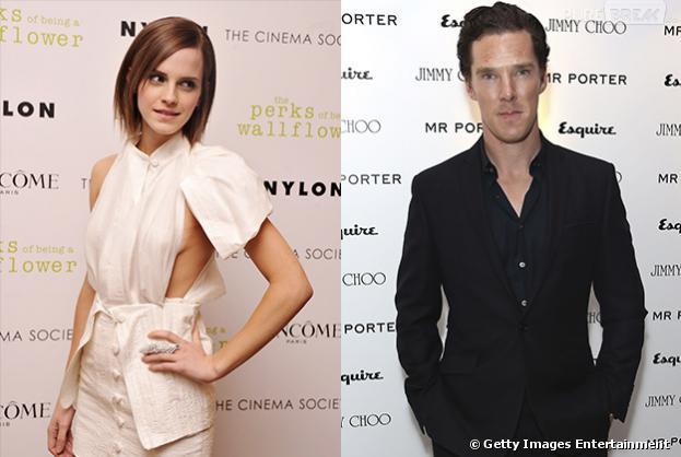 """Emma Watson e Benedict Cumberbatch formam o casal mais sexy do cinema eleito pelos leitores da revista """"Empire"""""""