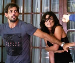 """Em """"Amor à Vida"""",Aline (Vanessa Giácomo) eNinho (Juliano Cazarré) eram comparsas"""