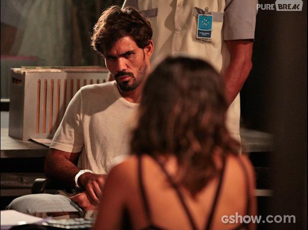 """Em """"Amor à Vida"""", Ninho (Juliano Cazarré) encontrará Aline (Vanessa Giácomo) na prisão!"""