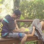 """Lexa publica foto romântica com MC Guime e se declara: """"Por mais momentos assim"""""""