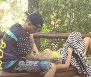 Lexa e MC Guime curtiram uns dias de férias juntos em Ilhabela, São Paulo