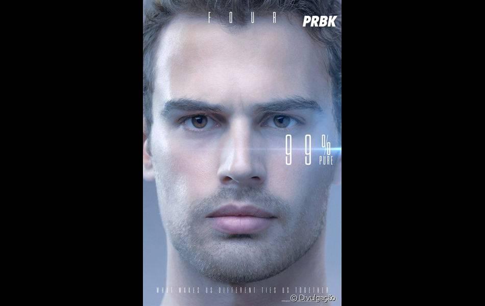"""""""A Série Divergente: Convergente"""" já divulgou cartazes que mostram o nível de pureza de cada integrante"""
