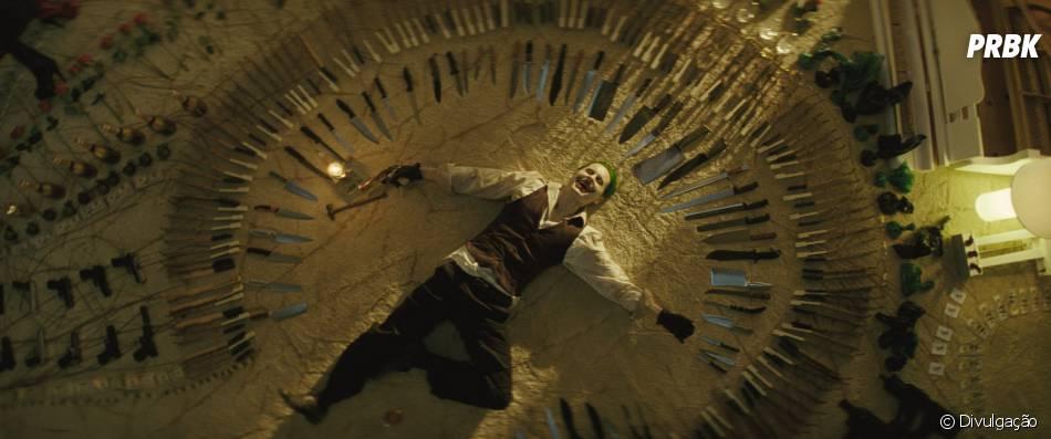 """Jared Leto interpreta o Coringa, em """"Esquadrão Suicida"""""""