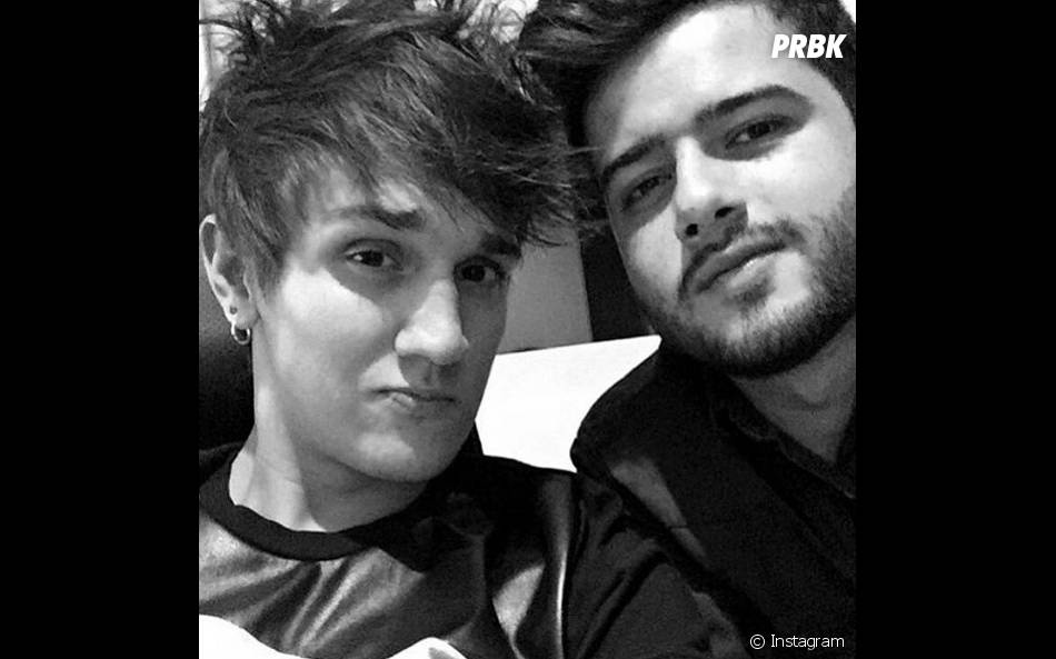 Christian Figueiredo e Rafael Moreira são amigos há muito tempo e se consideram irmãos!