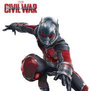"""De """"Capitão América 3"""": Homem-Formiga, Pantera Negra e mais personagens aparecem em novos cartazes"""