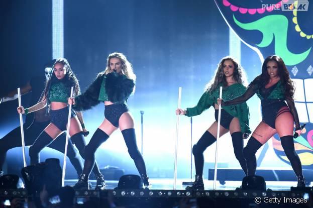 """Cantores do Little Mix se defendem de acusações de estarem usando figurinos """"sexy demais"""" em turnê"""