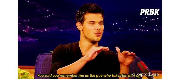 Taylor Lautner precisa comemorar seus 22 anos com classe