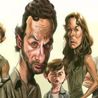 """Confira 10 fan arts da série """"The Walking Dead"""" com seus personagens favoritos!"""