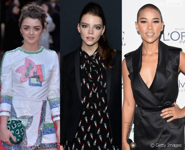 """Maisie Williams, Anya Taylor-Joy e Alexandra Shipp se juntam a elenco de filme dos Novos Mutantes, de """"X-Men"""""""