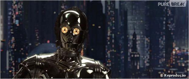 """Em """"Star Wars"""" um dos personagens preferidos da sério é o robô C-3PO, próximo filme será lançado em 2015 pela Disney"""
