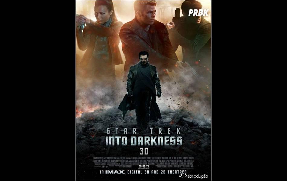 """""""Além da Escuridão - Star Trek"""" dirigido por J. J. Abrams em 2013"""