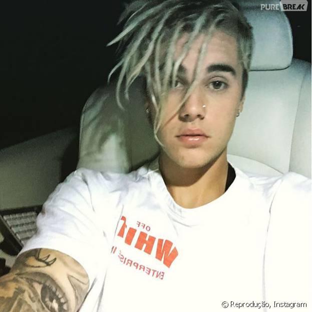Justin Bieber mostra visual com dreadlooks e fãs vão à loucura na internet!