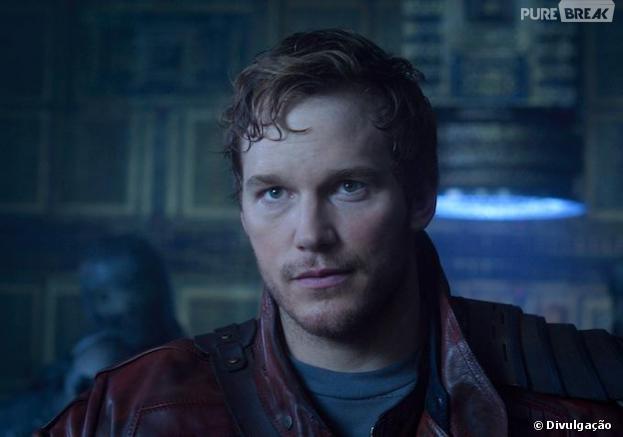 """Chris Pratt é Peter Quill em """"Guardiões da Galáxia"""""""