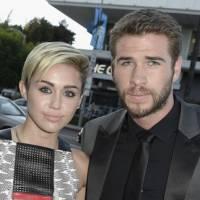 """Miley Cyrus e Liam Hemsworth vão juntos à première de """"O Caçador e a Rainha do Gelo"""""""