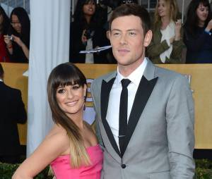 """Lea Michele e Cory Monteith namoravam na época de """"Glee"""""""