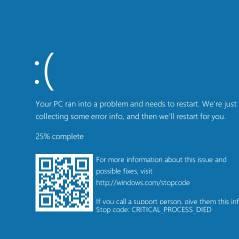 Windows 10, da Microsoft, ganhará código QR em atualização da famosa tela azul!