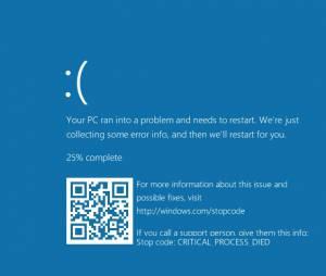 Microsoft vai dar um tapa no visual da tela azul do Windows 10 em breve!