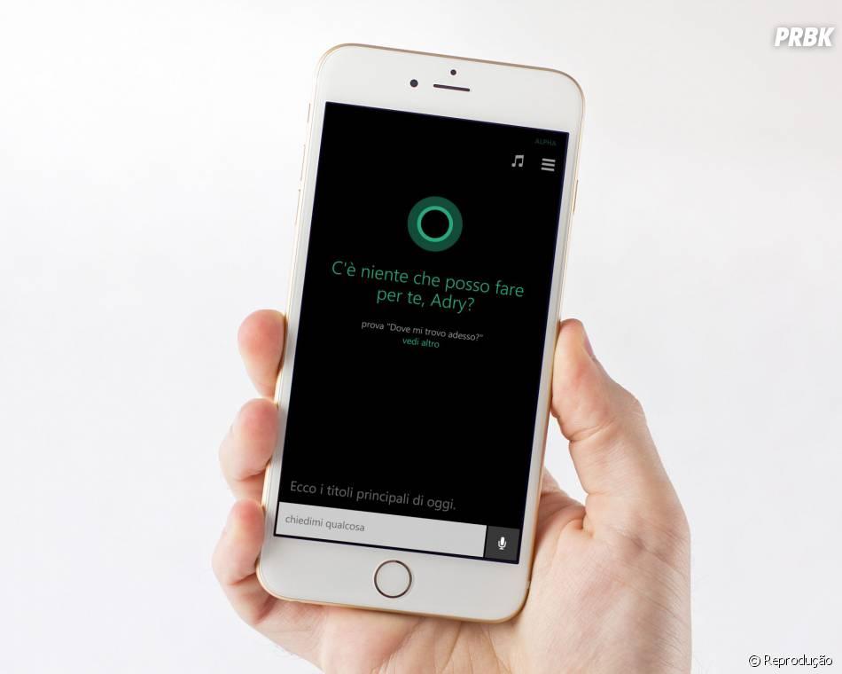 A Cortana, da Microsoft, chegou para Android e iOS no finalzinho do ano passado