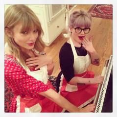 No Instagram! Taylor Swift e Kelly Osbourne brincam de cozinheiras e fazem cookies