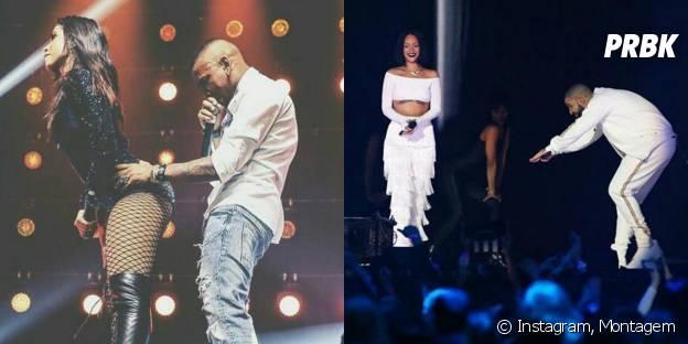 Anitta e Rihanna fazem parcerias incríveis