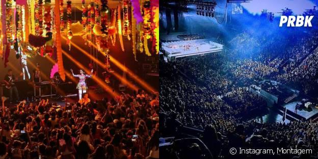 Anitta e Rihanna arrastam multidões por onde passam!