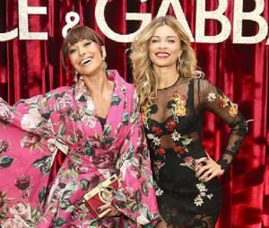 Em evento de moda, Grazi Massafera e Sabrina Sato posam juntas