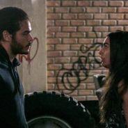 """Novela """"Malhação"""": Luciana (Marina Moschen) se assusta ao reencontrar Pedro (Enzo Romani)!"""