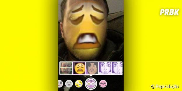 Snapchat agora permite trocar de rosto com arquivos salvos no celular