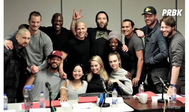 """Com Cara Delevingne, Jared Leto e muito mais, o elenco de """"Esquadrão Suicida"""" tá de arrasar!"""