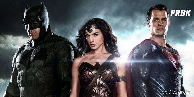 "O Flash (Ezra Miller) já apareceu em ""Batman vs Superman"""