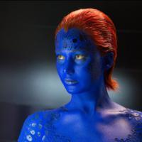 """Em """"X-Men"""": novas fotos de Jennifer Lawrence caracterizada como Mística"""