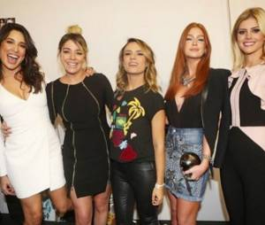 Marina Ruy Barbosa arrasando com as amigas no São Paulo Fashion Week