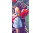 """Nas redes sociais,Mharessa Fernanda e Fhelipe Gomes, de """"Cúmplices de Um Resgate"""", são só amor"""