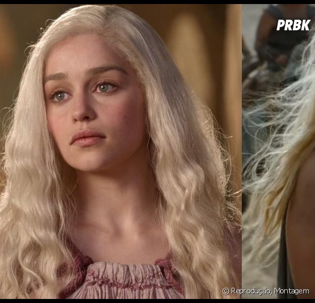 """Daenerys Targaryen (Emilia Clarke), de""""Game of Thrones"""", amadureceu bastante com o tempo, porém também sofreu com isso"""