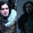 """No começo de """"Game of Thrones"""", Jon Snow (Kit Harington) era um garoto, mas as responsabilidades que ganhou com o tempo o transformaram em homem"""