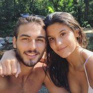 """Giulia Costa e Brenno Leone, de """"Malhação"""", aparecem coladinhos em foto no Instagram: """"Ê saudade"""""""