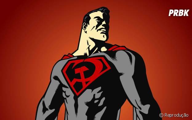 """Em Superman """"Entre a Foice e o Martelo"""" o Superman é Soviético"""
