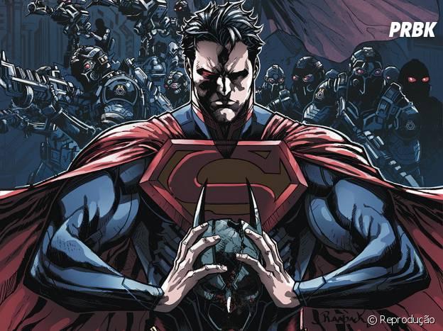"Superman ""Injustice"" mudou sua personalidade após a morte de Lois Lane"
