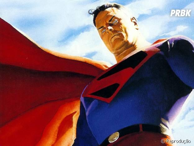 """Em Superman """"Reino do Amanhã"""" o herói já está bem mais velho e volta para a Terra após exílio"""