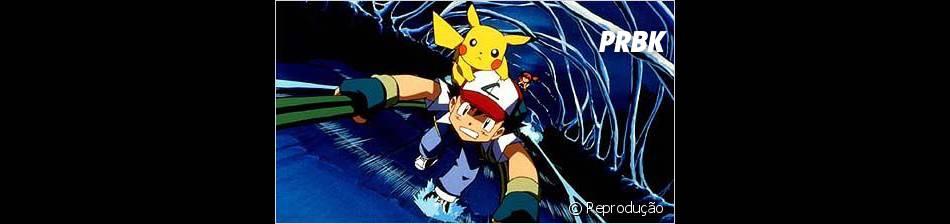 """Ash e Pikachu são os personagens principais de """"Pokémon"""""""